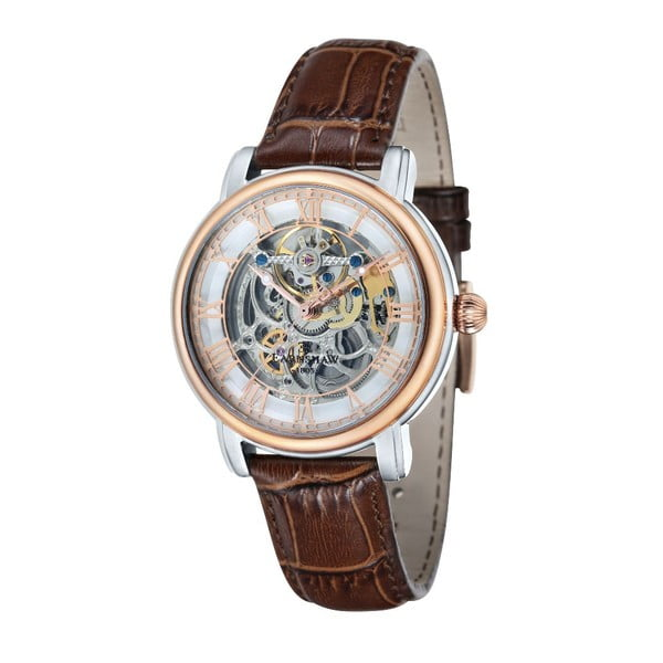 Zegarek męski Thomas Earnshaw Longcase Brown