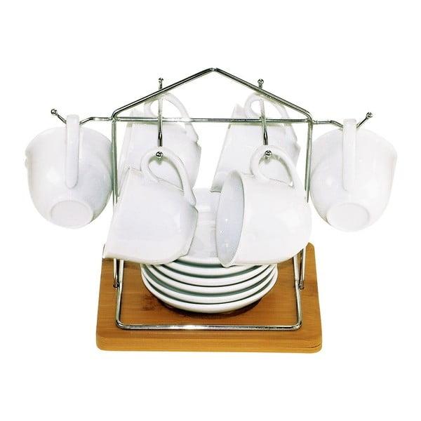 Zestaw 6 kubków na stojaku