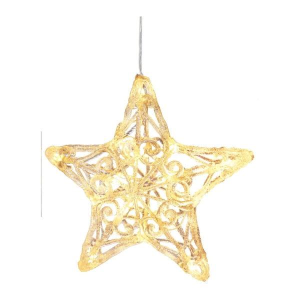 Świecąca dekoracja Crystal Star