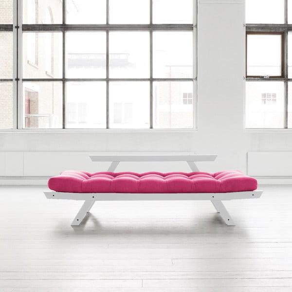 Sofa Karup Bebop Cool Grey/Magenta