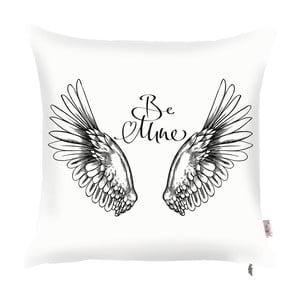 Poszewka na poduszkę z dekorem w czarnej barwie Apolena Wings, 43x43 cm