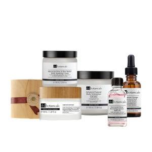 Zestaw kosmetyków do skóry suchej i dojrzałej Dr. Botanicals Wooden Limited
