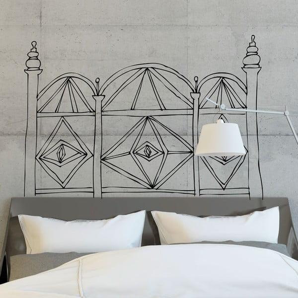 Naklejka Geometric Headboard White, 110x152 cm