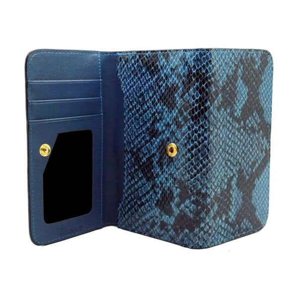 Etui na iPhone6 Wallet Snake Blue