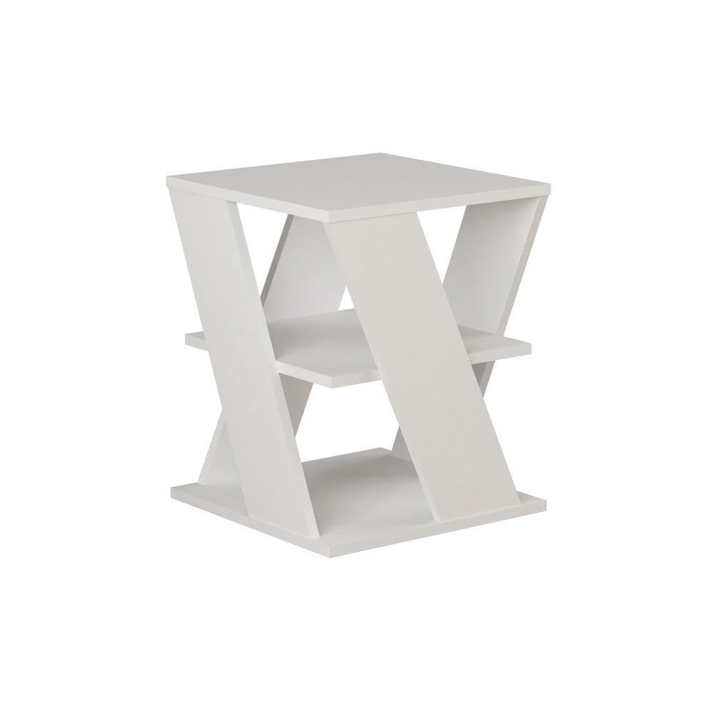 Biały podręczny stolik Cyclo White