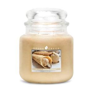 Świeczka zapachowa w szklanym pojemniku Goose Creek Słodkie masło orzechowe, 0,45 kg
