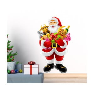 Naklejka świąteczna Ambiance Santa Claus and Gifts