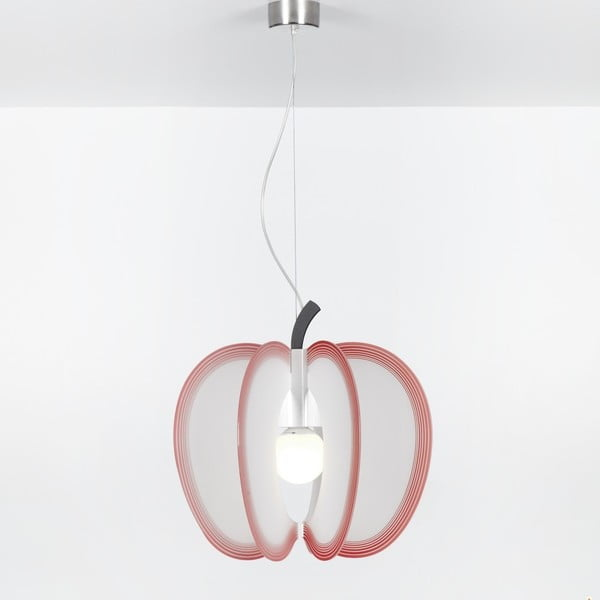 Lampa wisząca Mela Emporium, czerwona