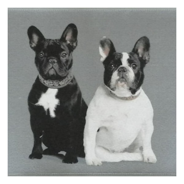 Dywanik French Bulldogs 75x50 cm