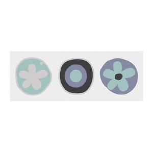Tablica magnetyczna do pisania z markerem i 4 magnesami Eurographics Flowers