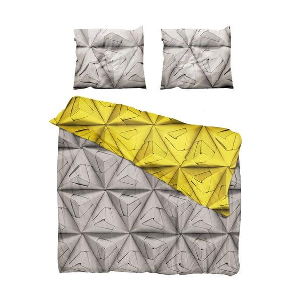 Pościel Snurk Monogami Yellow 200x200 cm