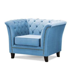 Niebieski fotel Wintech Newport
