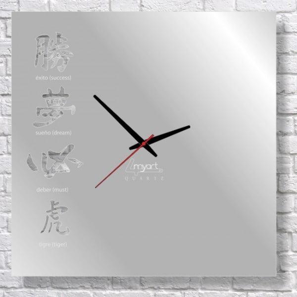 Zegar ścienny Kanji I