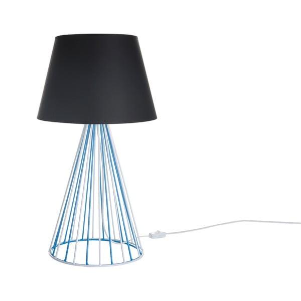 Lampa stołowa Wiry Black/Blue