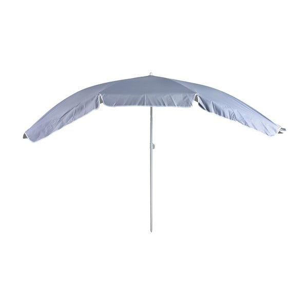 Szary parasol odpowiedni na wąskie balkony Esschert Design Magic