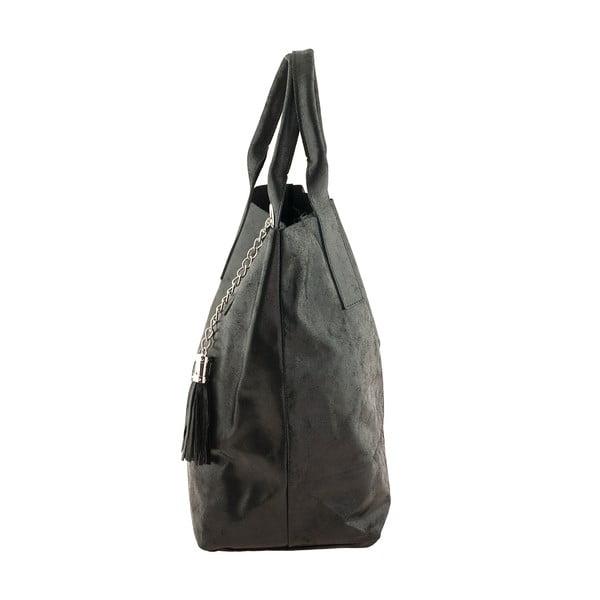Czarna torebka skórzana Ore Diece Laura