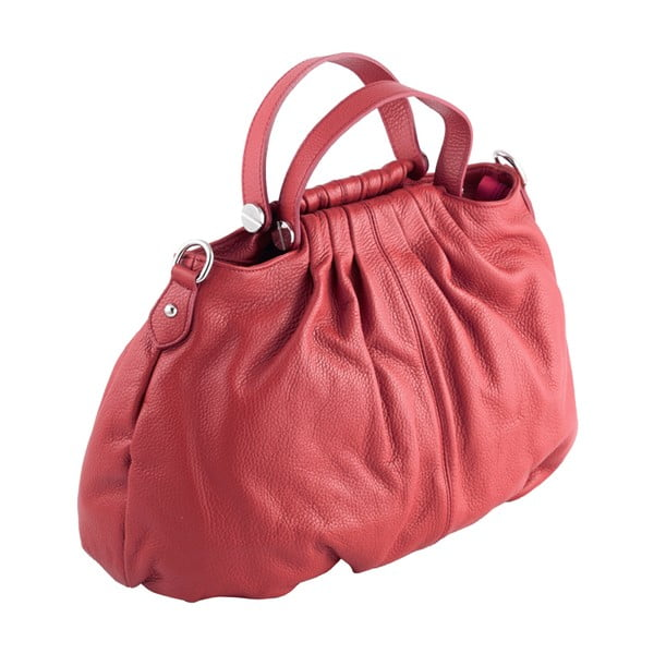 Skórzana torebka Andrea Cardone 934 Red