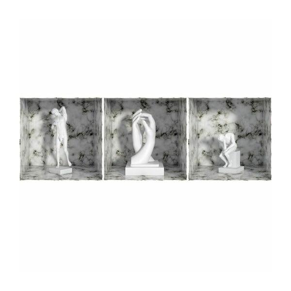 Naklejka Rodin Statue