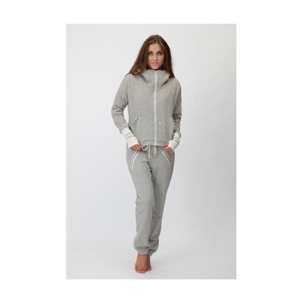 Bluza Taupe-Zip, rozmiar L