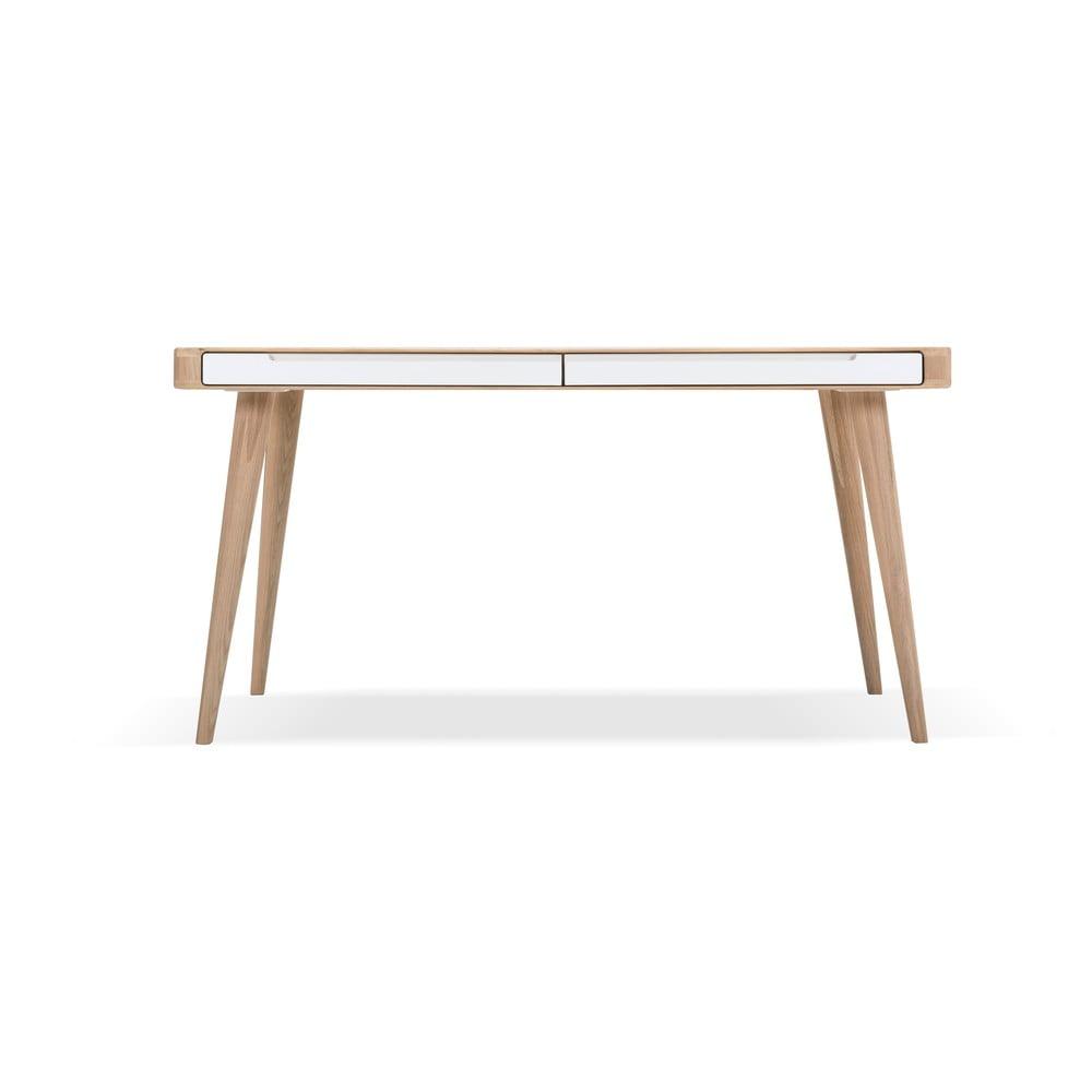 Stół z drewna dębowego Gazzda Ena Two, 140 x 90 cm