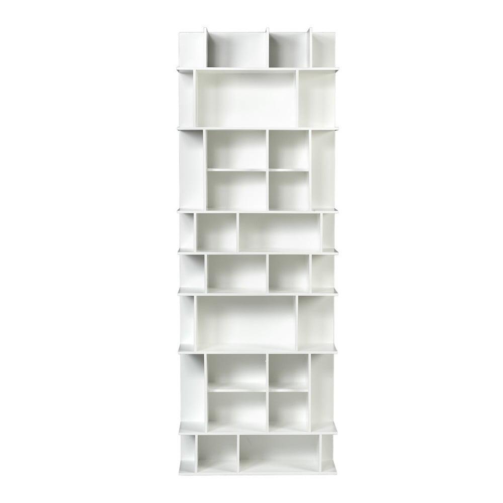 Biała wysoka biblioteczka TemaHome Panorama