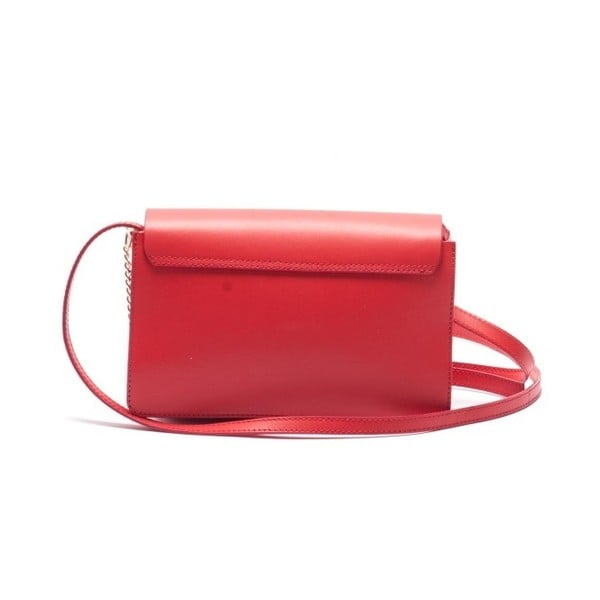 Skórzana torebka Mangotti 3038 Rosso