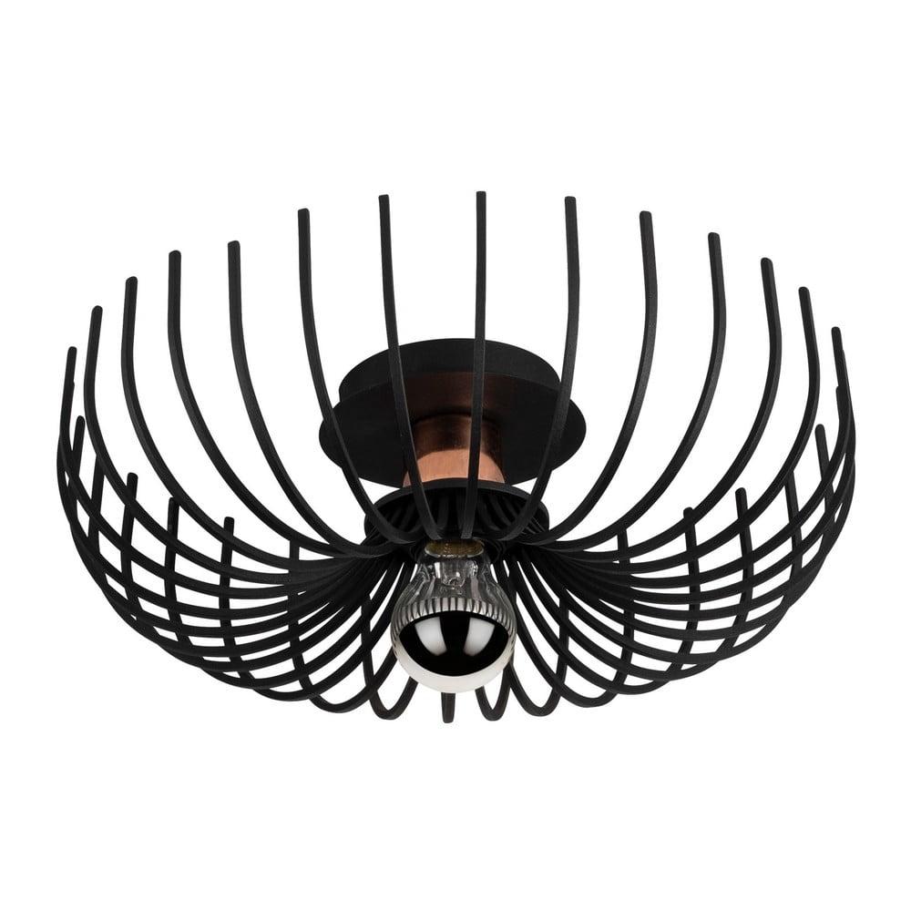 Czarna lampa sufitowa Opviq lights Aspendos, ø 36 cm