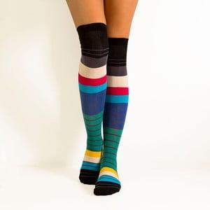 Zakolanówki Spectrum Stripes, rozmiar 36-40