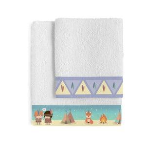 Zestaw 2 ręczników Happynois Indian Night