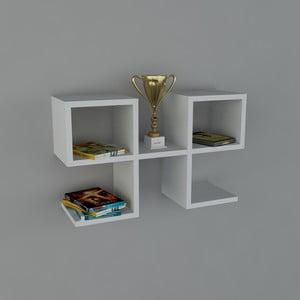 Półka Vita Book White, 22x65,4x40 cm