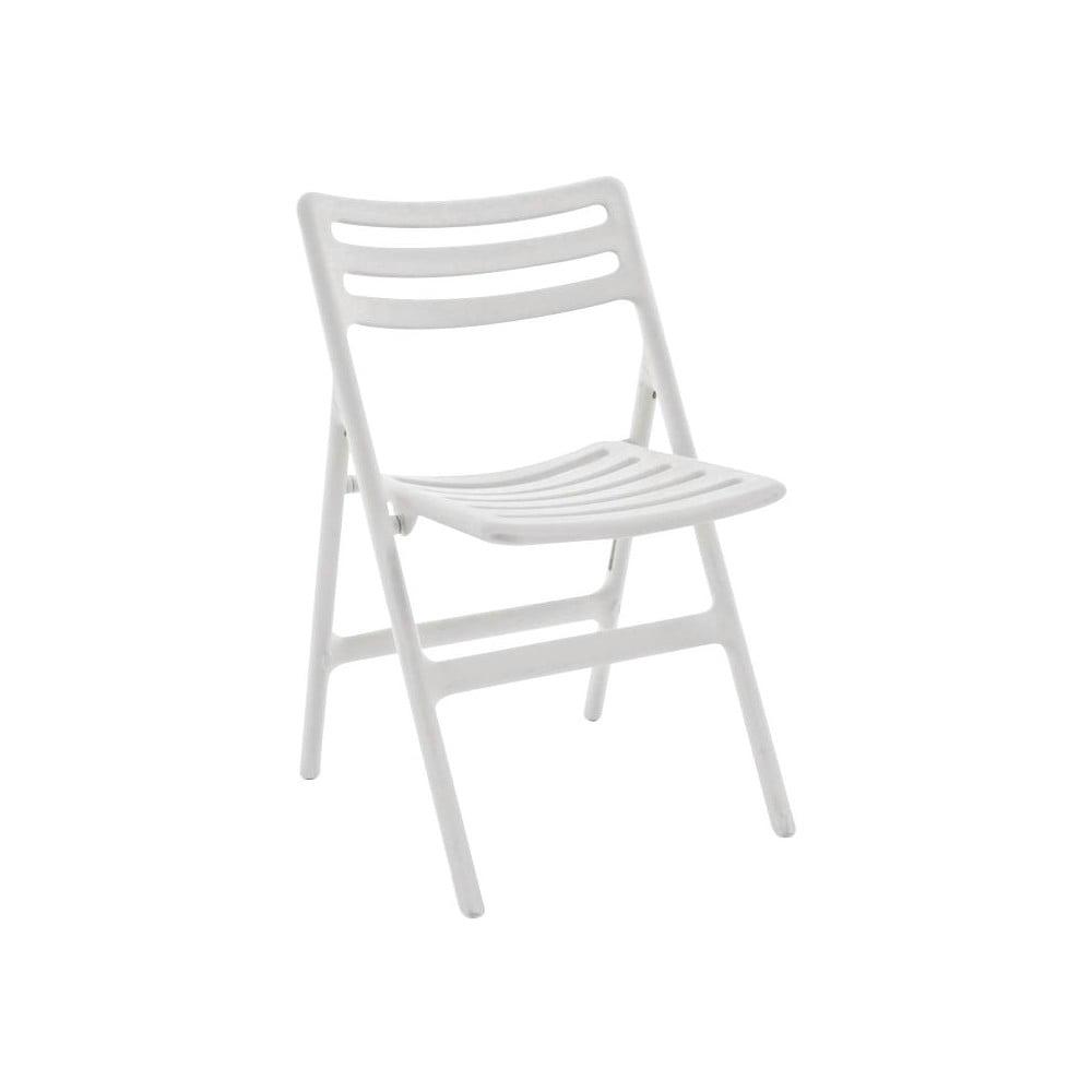 Białe składane krzesło Magis Air