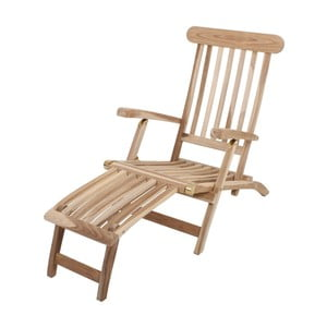 Leżak ogrodowy z drewna tekowego ADDU