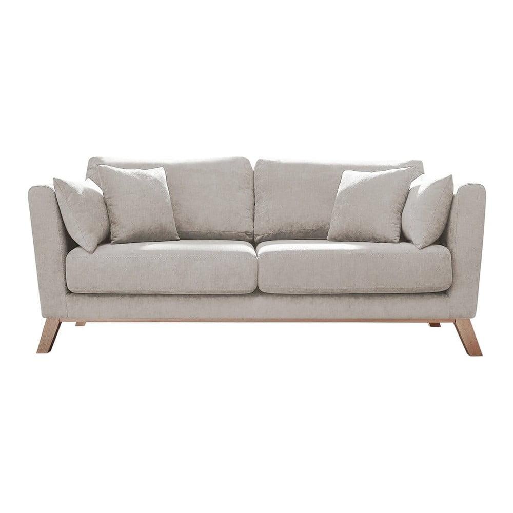 Kremowobiała sofa Bobochic Paris Doblo