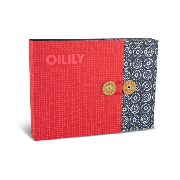 Zestaw 15 kartek na życzenia z kopertami w pudełku Portico Designs Oilily