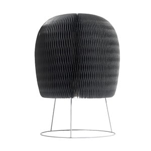 Lampa stołowa Fluffy, srebrna