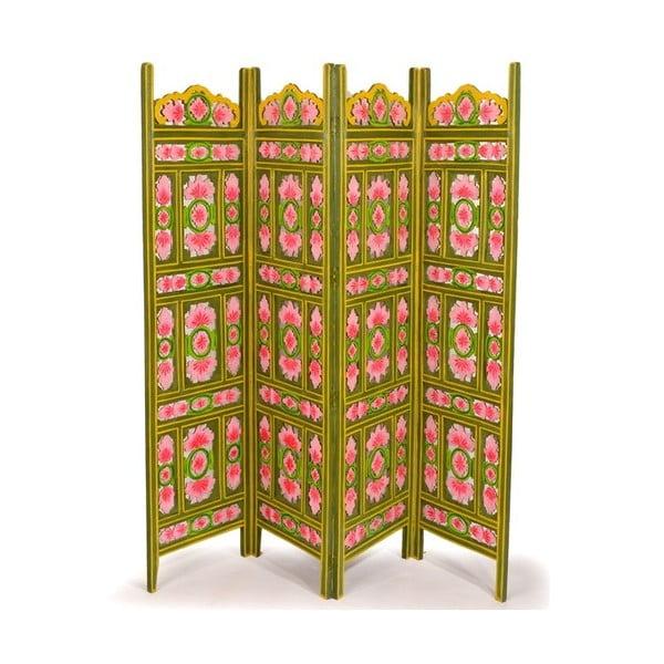 Parawan Orient 204x181 cm, zielony
