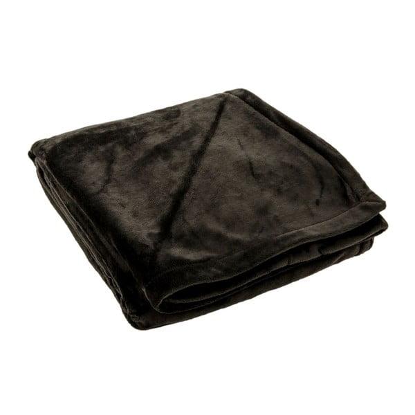Pled Supersoft Noir, 130x170 cm