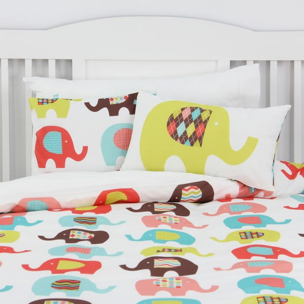 Poszewka na poduszkę Sweet Elephants 50x30 cm