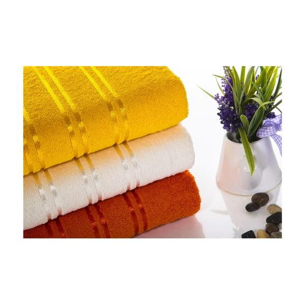 Zestaw 3 ręczników Becky V5, 50x90 cm