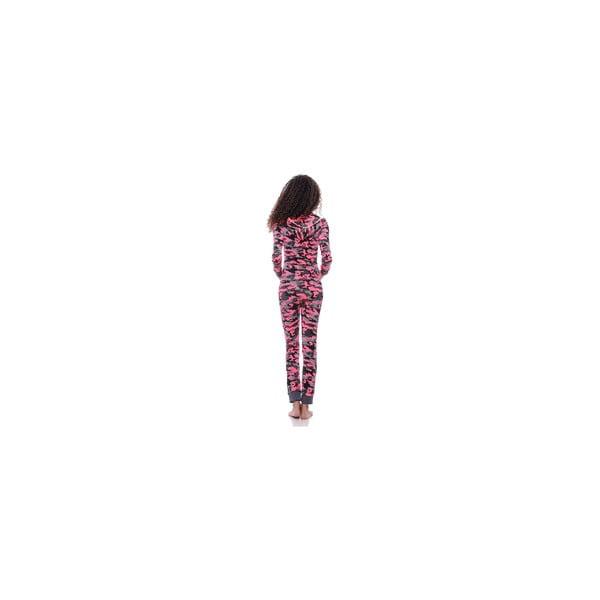 Obcisły kombinezon po domu Summer Pink Army, M, unisex