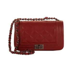 Skórzana torebka Andrea Cardone 2030 Ruby Red