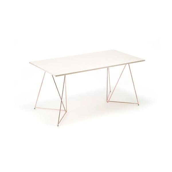 Dwie nogi do stołu Diamond Copper, 70x70 cm