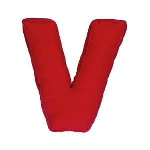 Poduszka w kształcie litery V, czerwona