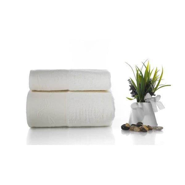 Zestaw 2 ręczników Pretty V5, 50x90 cm + 70x140 cm
