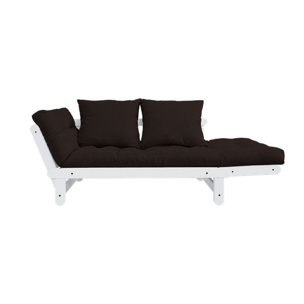 Sofa rozkładana Karup Beat White/Brown