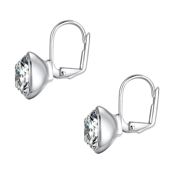 Kolczyki Swarovski Elements Glass Stone Crystal