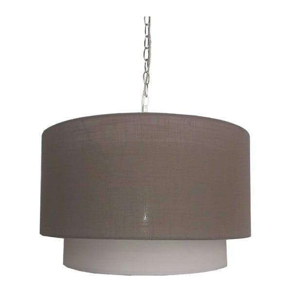 Lampa sufitowa Rumba, brązowa