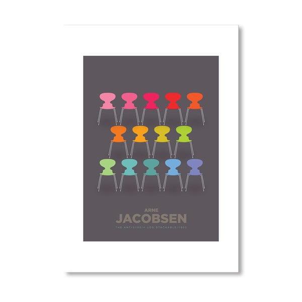 "Plakat autorski ""Colourful Ants"""