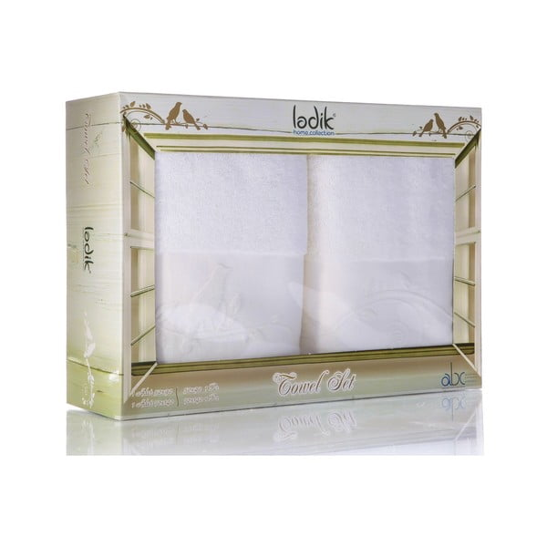Zestaw 2 ręczników Indigo V5, 50x90 cm + 70x140 cm