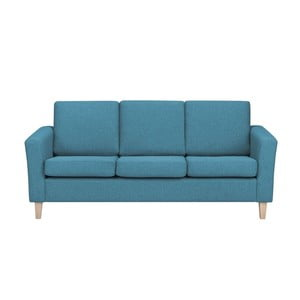 Niebieska 3-osobowa sofa HARPER MAISON Anette